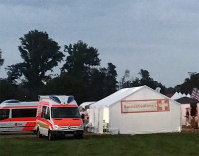 Sanitätsdienste von SuB NRW aus Hagen, Wundversorgung Notfallhilfe